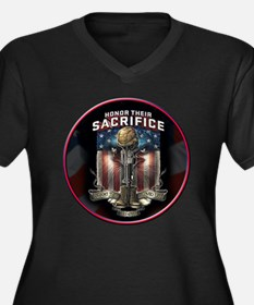 01026 HONOR THEIR SACRIFICE Plus Size T-Shirt