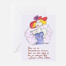 Red Hat Society Greeting Cards (Package of