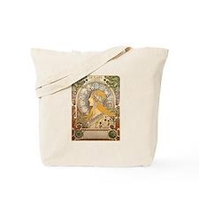 Mucha La Plume Art Nouveau Tote Bag