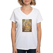 Mucha La Plume Art Nouveau T-Shirt
