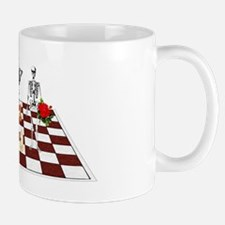 Chess Skeletons Mug