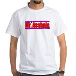 That's Mr. Asshole to you! White T-Shirt