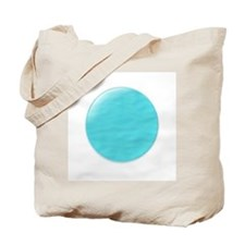 Neptune 3D Planet Tote Bag