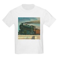 Antique Train Steam Engine Locomotive Vintage T-Shirt