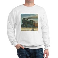 Antique Train Steam Engine Locomotive Vintage Swea