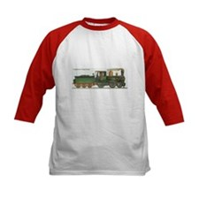 Victorian Train Antique Locomotive Tee