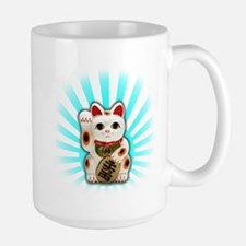 Lucky Cat (Maneki-neko) Mug