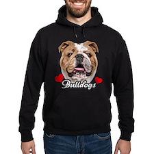 Love English Bulldog Hoody