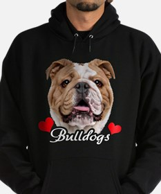 Love English Bulldog Hoody