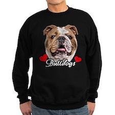 Love English Bulldog Sweatshirt