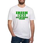 Irish Ass Kicking Team XXL Fitted T-Shirt