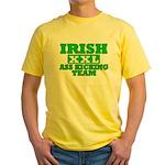 Irish Ass Kicking Team XXL Yellow T-Shirt