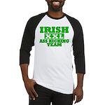 Irish Ass Kicking Team XXL Baseball Jersey