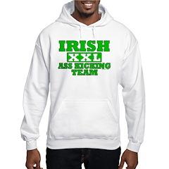 Irish Ass Kicking Team XXL Hoodie