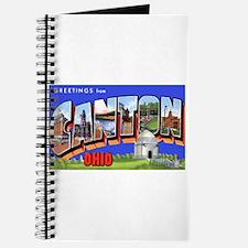 Canton Ohio Greetings Journal