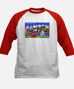 Akron Ohio Greetings (Front) Tee