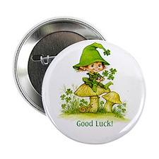 """Good Luck 2.25"""" Button (10 pack)"""