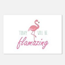 Today Will Be Flamazing Postcards (Package of 8)