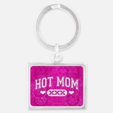 Hot Mom Landscape Keychain