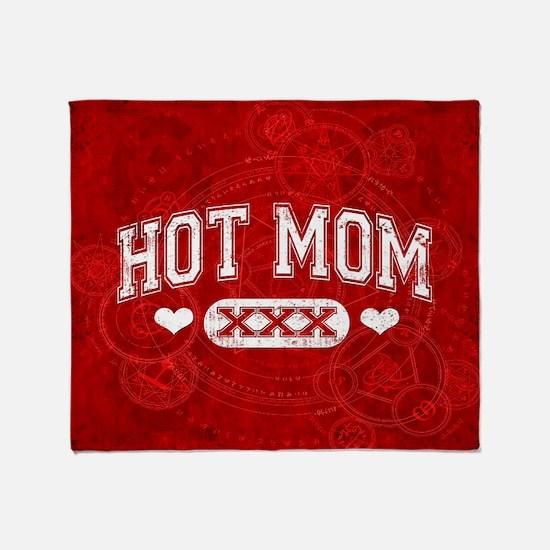 Hot Mom Throw Blanket