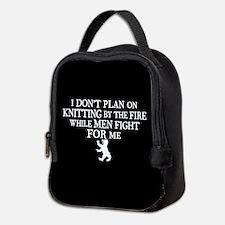 GOT I Don't Plan On Knitting Neoprene Lunch Bag