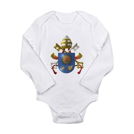 Pope Francis Coat of Arms Body Suit