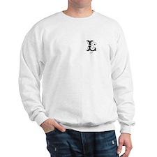 Liz: Fancy Monogram Sweatshirt
