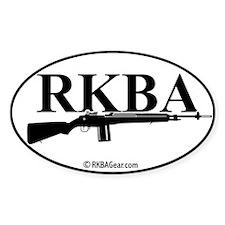 RKBA M-14 Auto Decal