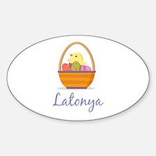 Easter Basket Latonya Decal