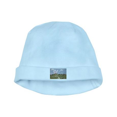 StephanieAM Castle baby hat