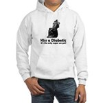 Kiss a Diabetic Hooded Sweatshirt