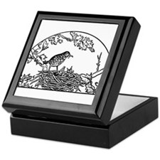 Bird Nest Keepsake Box
