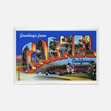 Carmel California Greetings Rectangle Magnet (10 p
