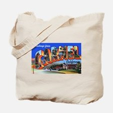Carmel California Greetings Tote Bag