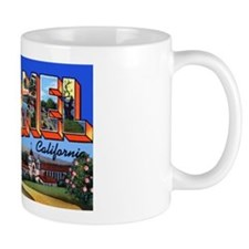 Carmel California Greetings Mug