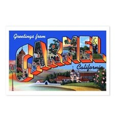 Carmel California Greetings Postcards (Package of