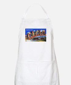 Carmel California Greetings BBQ Apron