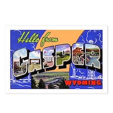 Casper Wyoming Greetings Postcards (Package of 8)