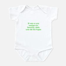 Si ves a una amiga sin Sonris Infant Bodysuit