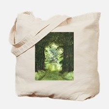 StephanieAM Wood Ray Tote Bag