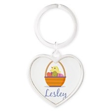 Easter Basket Lesley Keychains