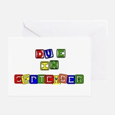 Due in September Greeting Cards (Pk of 10)