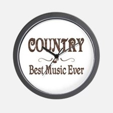 Country Best Music Wall Clock