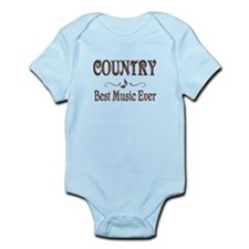 Country Best Music Infant Bodysuit