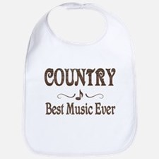 Country Best Music Bib