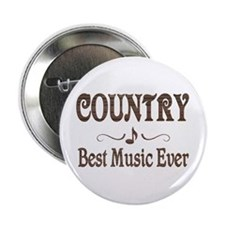 """Country Best Music 2.25"""" Button"""