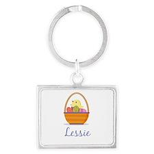 Easter Basket Lessie Keychains