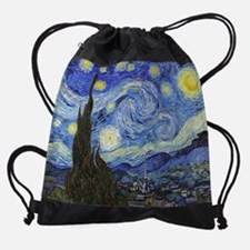 Cute Van gogh Drawstring Bag