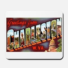 Charleston West Virginia Greetings Mousepad