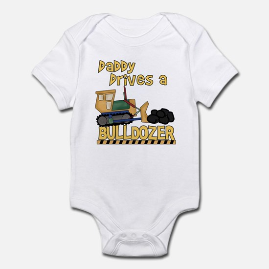Daddy Drives a Bulldozer Infant Creeper